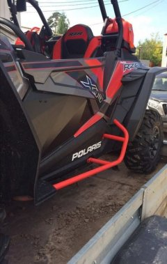 Накладки на дверь на POLARIS  RZR XP 1000 EPS HIGH LIFTER EDITION